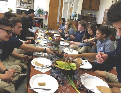 Juniors Get a Taste of Biblical Feasts
