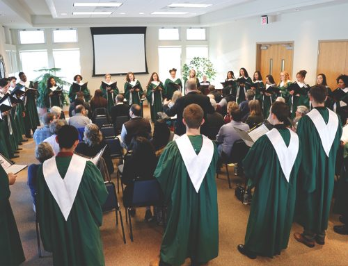 Choralaires Sing for Executive Committee