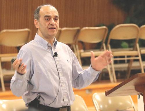Dr. Karl Tsatalbasidis Speaks for Week of Prayer