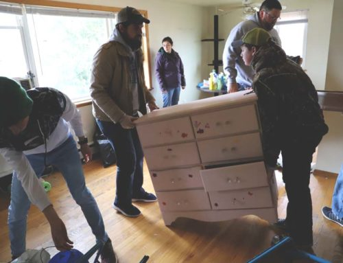 Students Prepare a Home for the Homeless