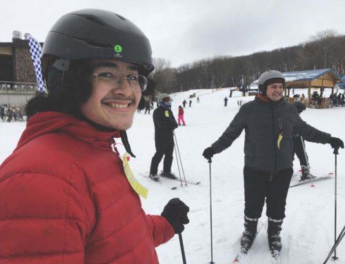 Skiing at Cascade Mountain