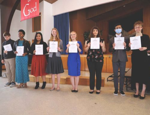 NHS Inducts Eight