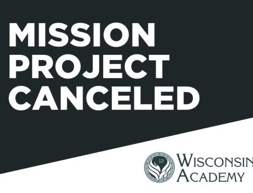 Mission Project Cancelled