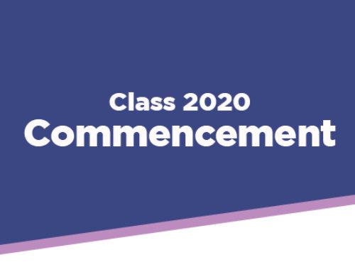 Graduation Commencement – Class of 2020