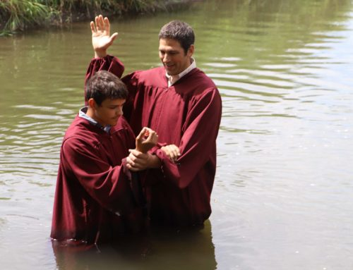 Celebrating Zyon's Baptism