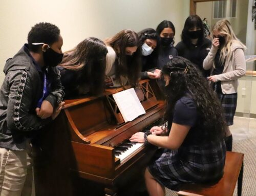 Piano Donated to Women's Dorm