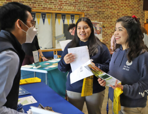 Juniors and Seniors Visit with Nine Colleges