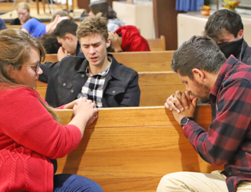 Staff Speak for First Week of Prayer